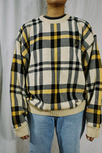 Load image into Gallery viewer, Tommy Hilfiger NWT Plaid Knit Sweater