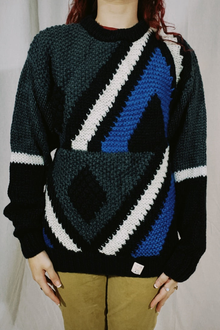 Forum NWT Abstract Knit Sweater