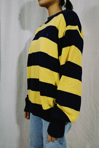 Polo RL Bold Strip Knit Sweater