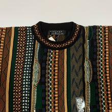 Load image into Gallery viewer, Protege Faux Coogi Sweater