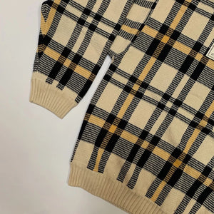 Tommy Hilfiger NWT Plaid Knit Sweater