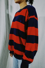 Load image into Gallery viewer, Polo RL Bold Strip Knit Sweater
