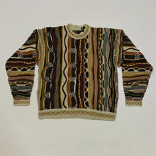 Load image into Gallery viewer, Baucci Faux Coogi Sweater