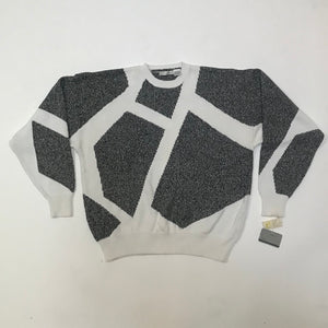 Claibourne NWT Abstract Knit Sweater