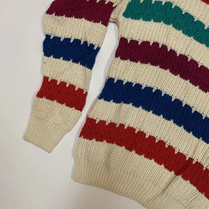 Jantzen Bold Stripe Knit Sweater