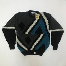 Load image into Gallery viewer, Forum NWT Abstract Knit Sweater