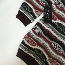 Load image into Gallery viewer, Protege NWT Faux Coogi Knit Sweater