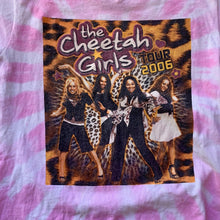 Load image into Gallery viewer, Cheetah Girls 2006 Tour Tie-Dye T-Shirt