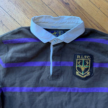 Load image into Gallery viewer, Polo RL Deer Patch Striped Rugby