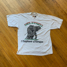 Load image into Gallery viewer, Ivory Coast African Elephant French Text T-Shirt