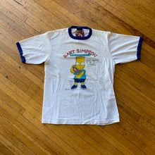 "Load image into Gallery viewer, Bart Simpson 1989 ""Underachiever"" Ringer T-Shirt"