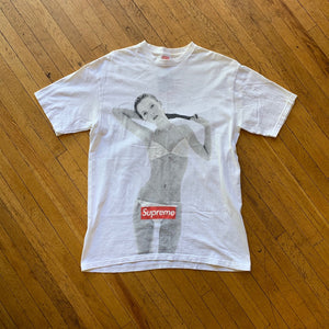 Supreme SS04 Kate Moss 10th Anniversary T-Shirt
