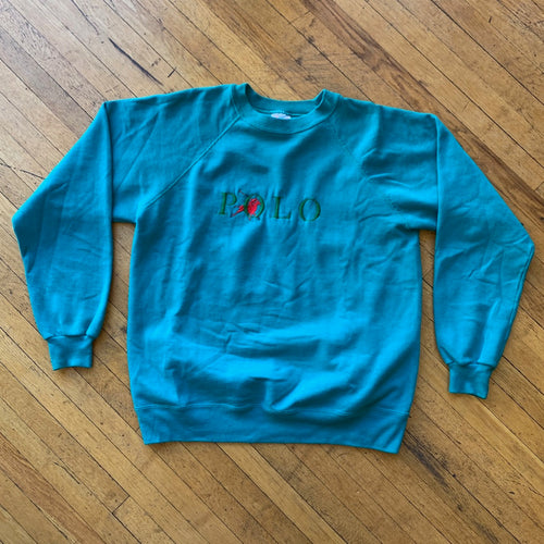 Bootleg Polo RL Embroidered Crewneck
