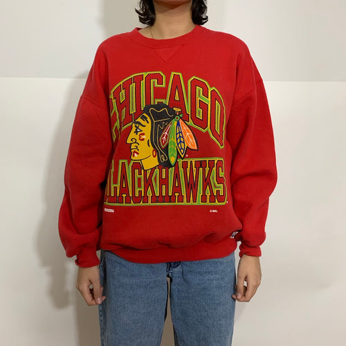 Russell Athletic NHL Chicago Blackhawks Crewneck
