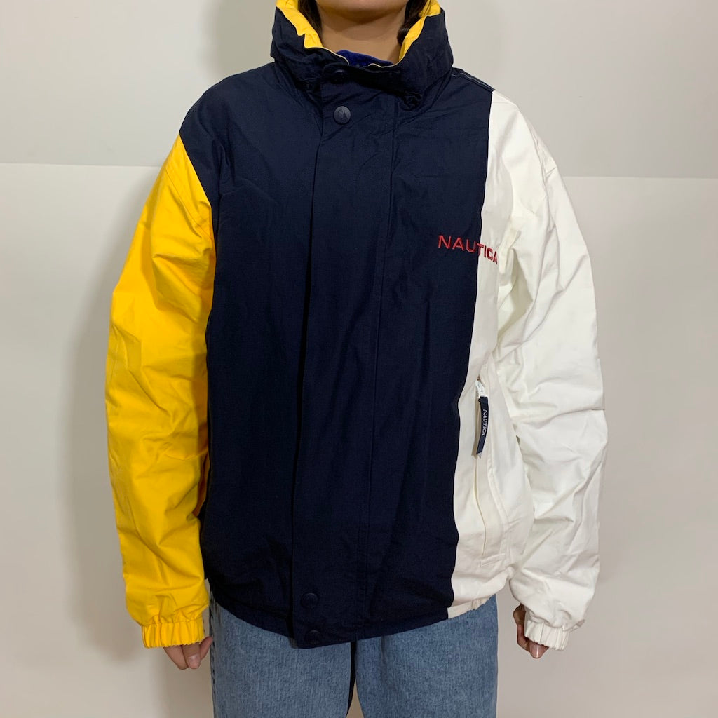 Nautica Tri-Color Reversible Sailing Jacket