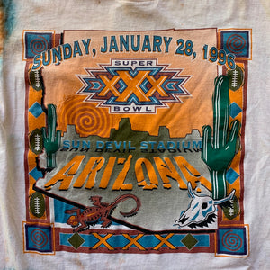 NFL Super Bowl Arizona Custom Tie-Dye T-Shirt