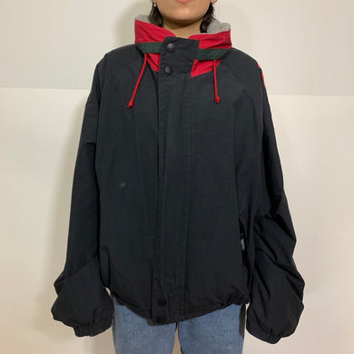 Nautica Sport Reversible Fleece Puffer Coat