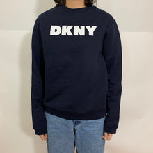 Load image into Gallery viewer, DKNY Solid Logo Crewneck