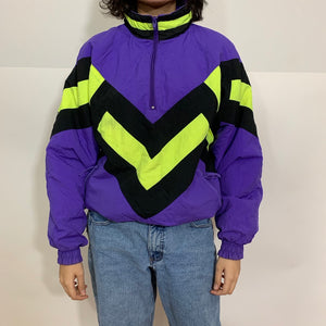 Dual Control Color Block Ski Jacket
