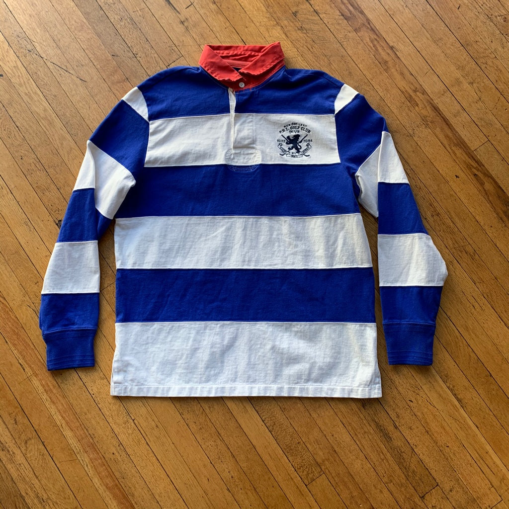 Polo RL Golf Club Bold Striped Rugby