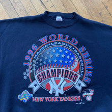 Load image into Gallery viewer, MLB NY Yankees 1996 World Series Champions Crewneck