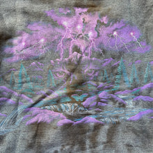 Load image into Gallery viewer, Mountain & Forest Cat Eyes Cropped Crewneck
