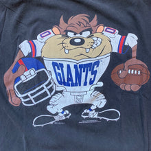 Load image into Gallery viewer, TAZ 1993 New York Giants Player T-Shirt