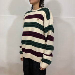 Tommy Hilfiger Thin Striped Knit Sweater