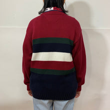 Load image into Gallery viewer, Tommy Hilfiger Striped Purl Knit Sweater