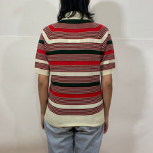 Load image into Gallery viewer, Globus 70's Style Gucci-like SS Polo