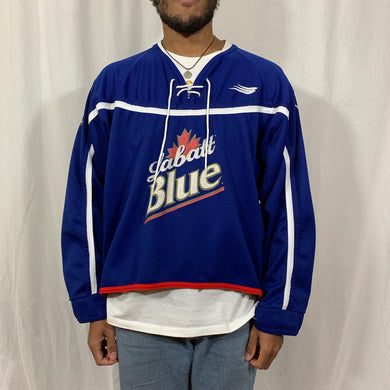 Labalt Blue Hockey Jersey
