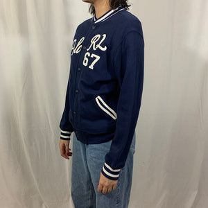 Polo RL French Terry Snap Cardigan