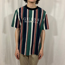 Load image into Gallery viewer, Guess Jeans Striped T-Shirt