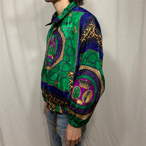 Pan Asia Color Block Rope Windbreaker