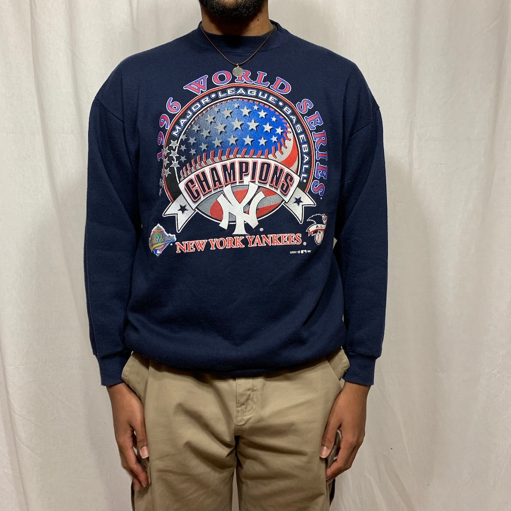 MLB NY Yankees 1996 World Series Champions Crewneck