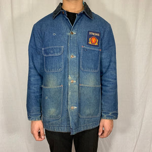 Stroh's Brewery Patch Denim Jacket