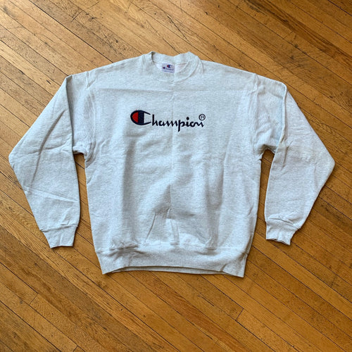 Bootleg Champion Embroidered Crewneck
