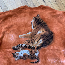Load image into Gallery viewer, Laying Tiger Double Sided Tie-Dye T-Shirt