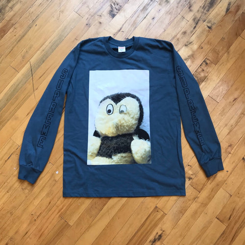 CONSIGN ZR 122 : SUPREME X MIKE HILL STUFFED ANIMAL LONG SLEEVE T-SHIRT