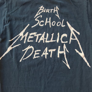 Metallica 1992 Birth, School, Death Single Stitch T-Shirt