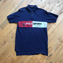 Load image into Gallery viewer, Polo Sport Spell Out Color Blocked Polo