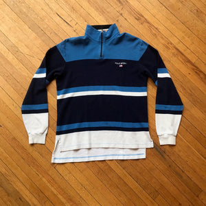 Polo RL Striped Thermal Long Sleeve Shirt