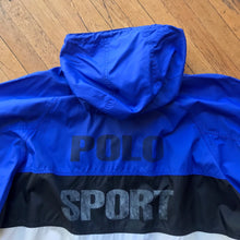 Load image into Gallery viewer, Polo Sport Bold Striped Windbreaker