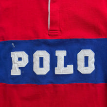 "Load image into Gallery viewer, Polo RL Color Block ""Polo"" Rugby"