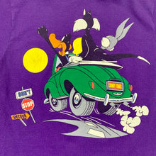 Load image into Gallery viewer, Looney Toons Cruisin Double Sided Single Stitch T-Shirt