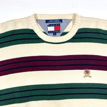 Load image into Gallery viewer, Tommy Hilfiger Thin Striped Knit Sweater