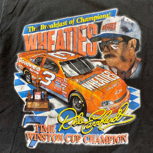 NASCAR Dale Earnhardt Wheaties Single Stitch T-Shirt