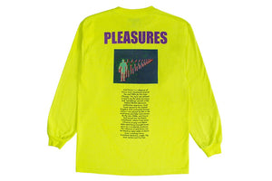 Acid House LS T-Shirt / Neon Yellow