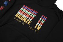 Load image into Gallery viewer, Bronze TV Hoody Black