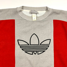 Load image into Gallery viewer, Adidas Color Block Logo Crewneck